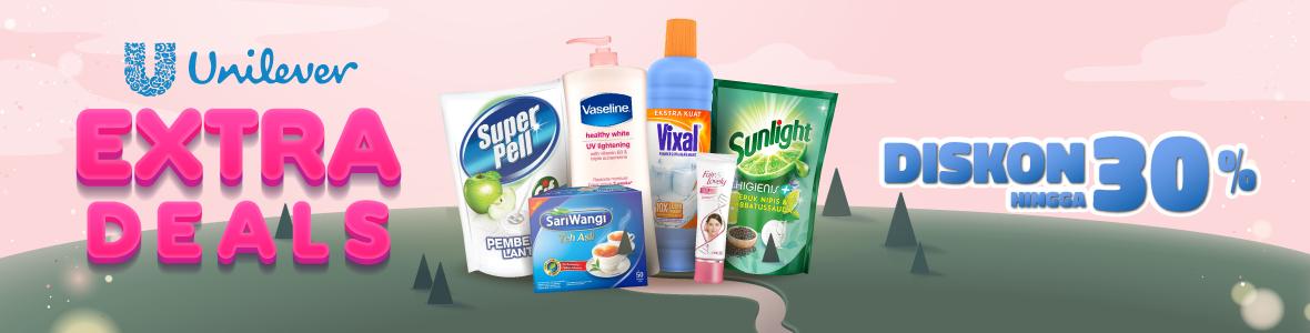 Jual Sampo, Pelembap, & Produk Unilever Lainnya Diskon ...