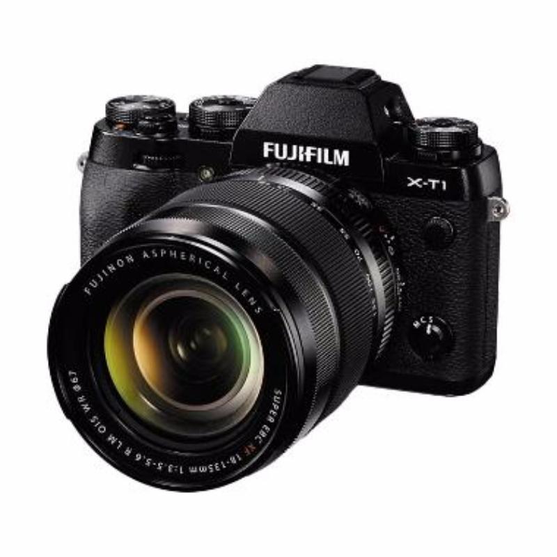 fujifilm x-t1 kit 18-135mm new lens kamera mirrorless hitam