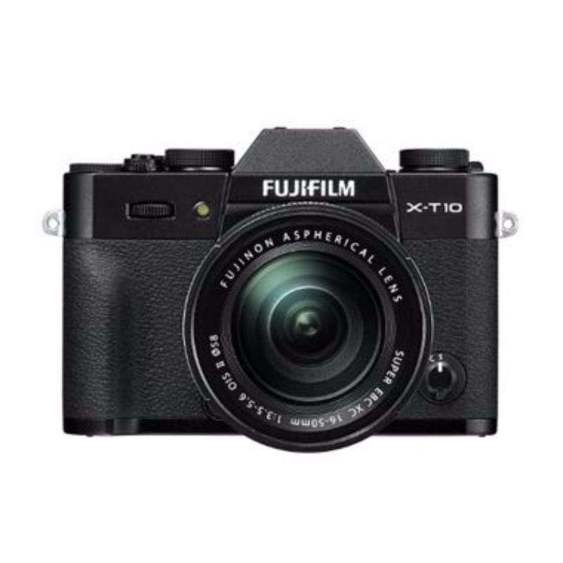 fujifilm x-t10 kamera mirrorless 16-50 mm black