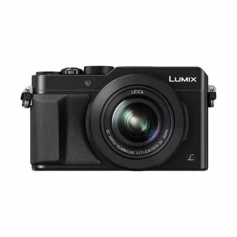 panasonic lumix dmc-lx100 4k kamera- hitam
