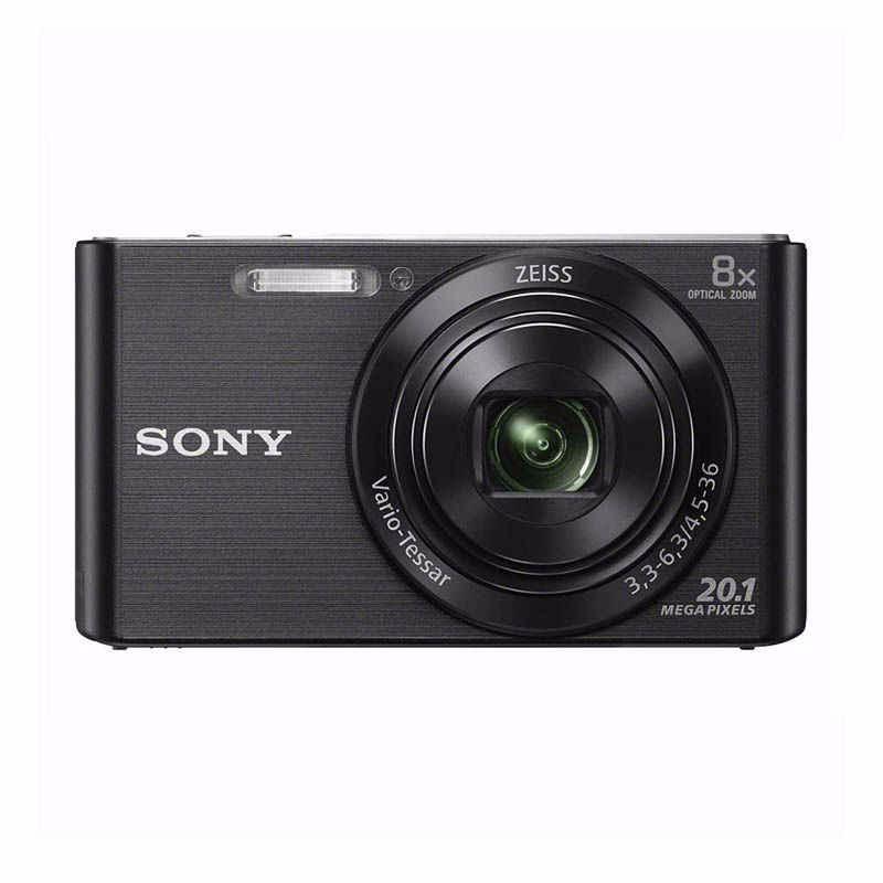 sony cyber-shot dsc-w830 kamera pocket hitam