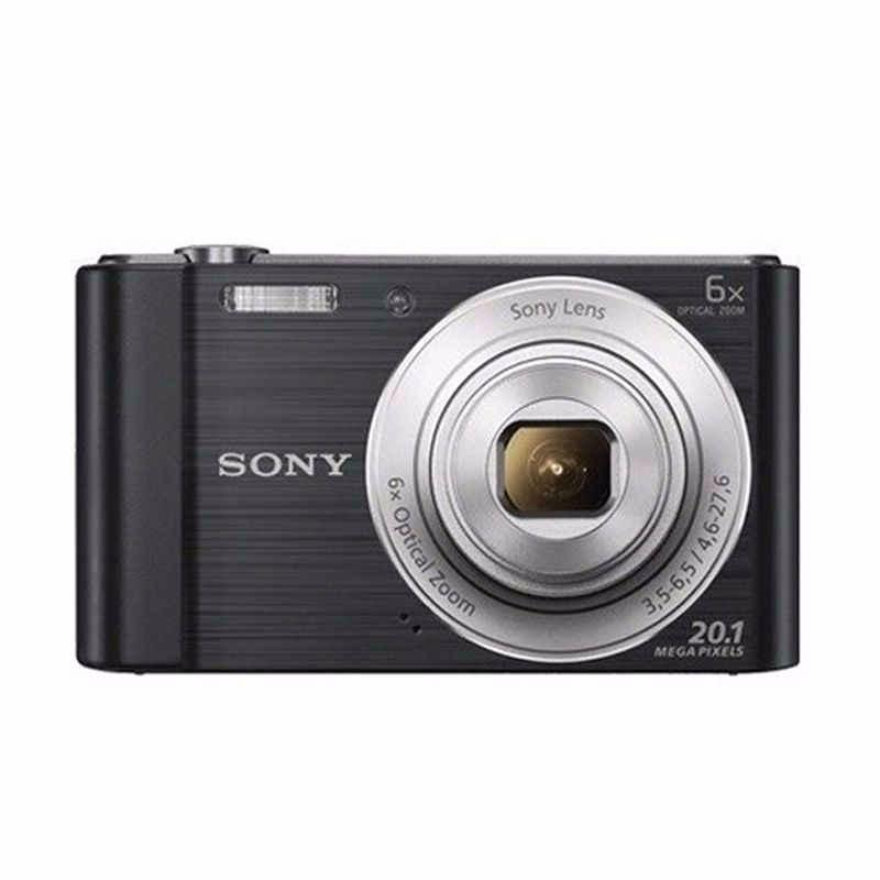 sony w810 cyber-shot kamera pocket hitam