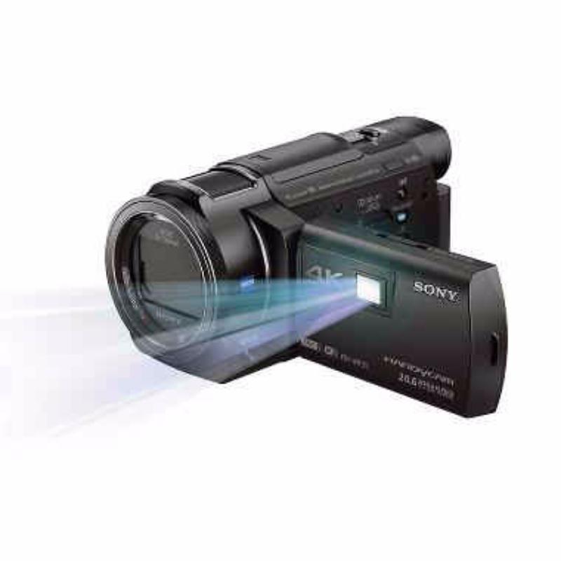 sony fdr axp 35 camcorder black