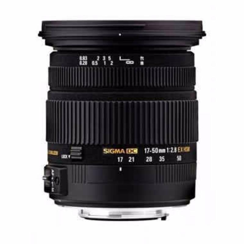 sigma 17-50mm f2.8 ex dc os hsm lensa kamera for nikon