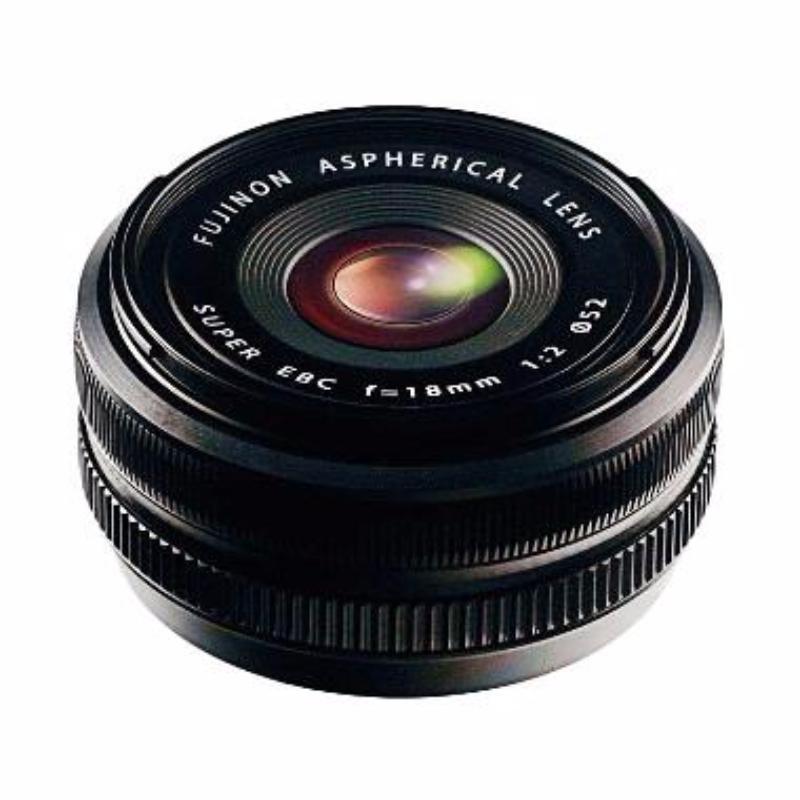fujifilm xf 18mm f2 r lensa kamera