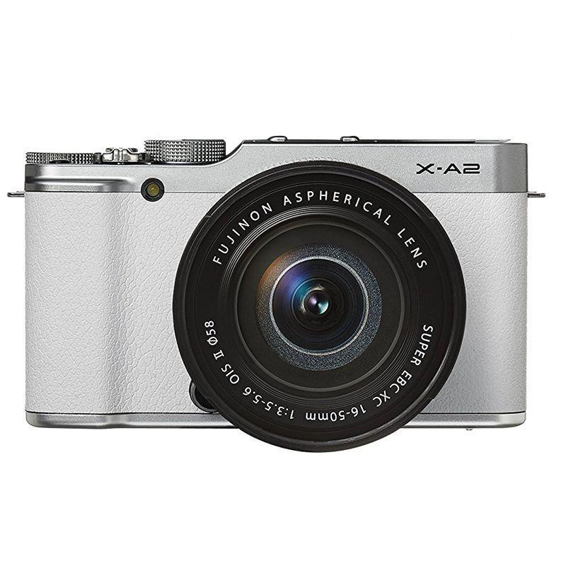 fujifilm kamera mirrorless x-a2 kit 16-50mm putih