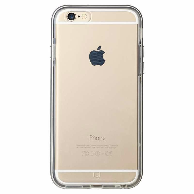 Baseus Fusion Series Metal Bumper + TPU Back case for iPhone 6 Plus