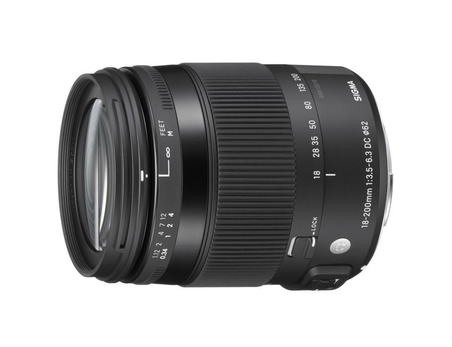 Sigma 18-200mm F3.5-6.3 DC Macro for Nikon