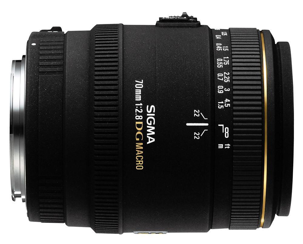 Sigma 70mm f/2.8 EX DG Macro for Canon