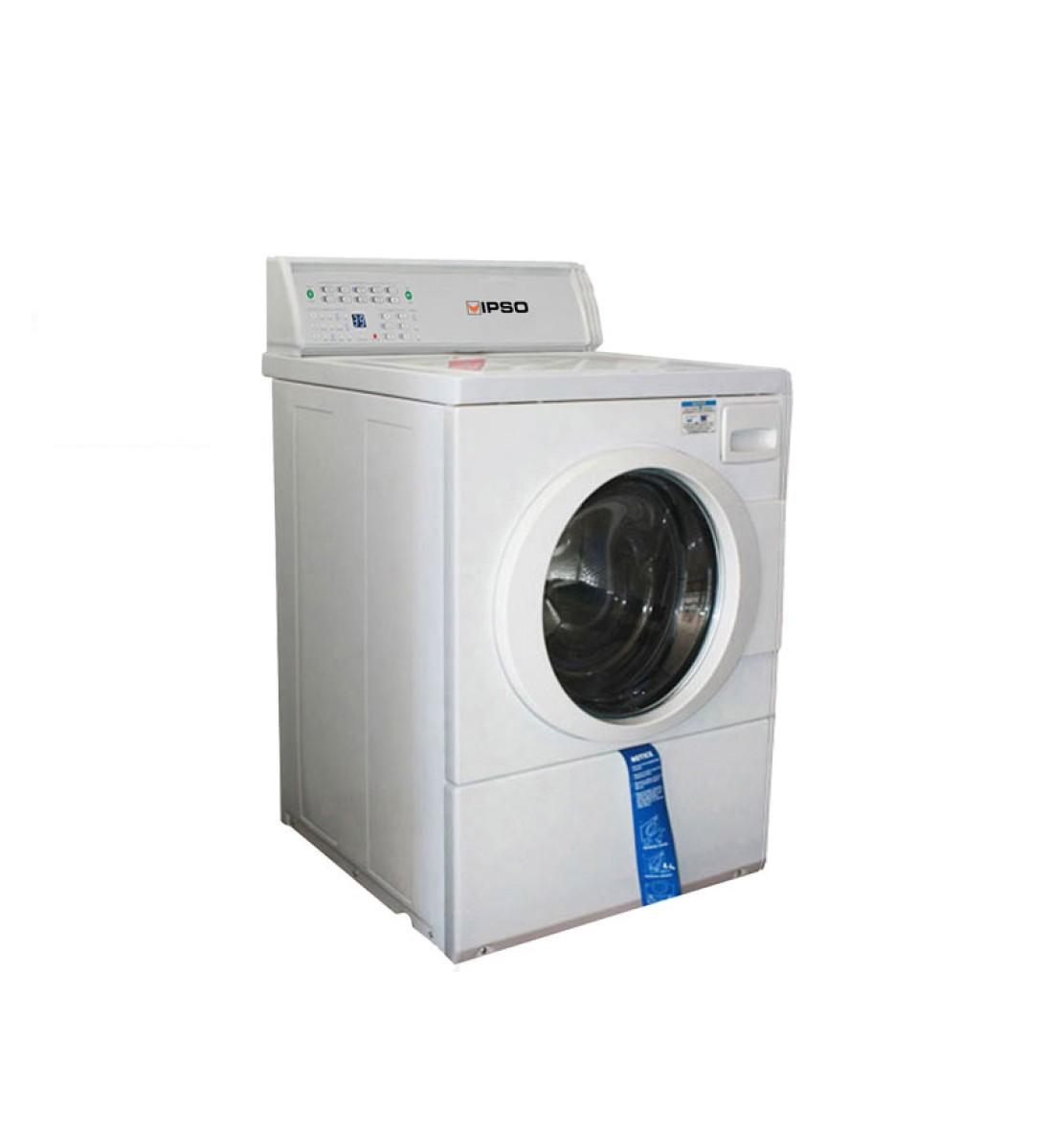 ipso mesin cuci front load ffn kap. 10,5 kg - putih