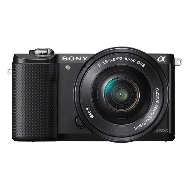 sony alpha a5000 kit 16-50mm lens black