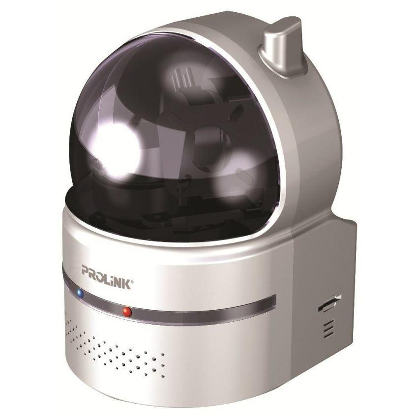 prolink pic1003wp wireless ip camera with pan tilt - silver