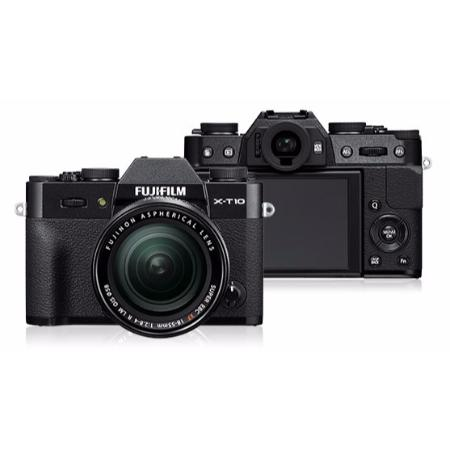 fujifilm kamera mirrorless x-t10 fuji x-t10 lensa kit 16-50mm ois ii
