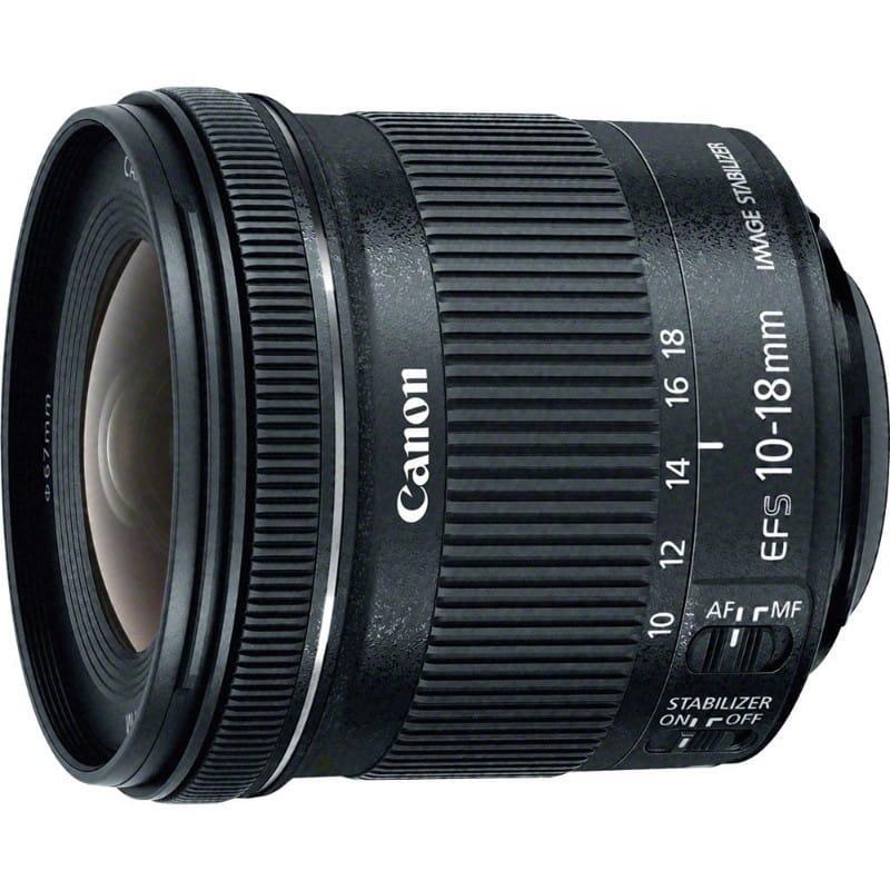 Lensa Canon 10-18Mm F4.5-5.6 Is Stm Original 100
