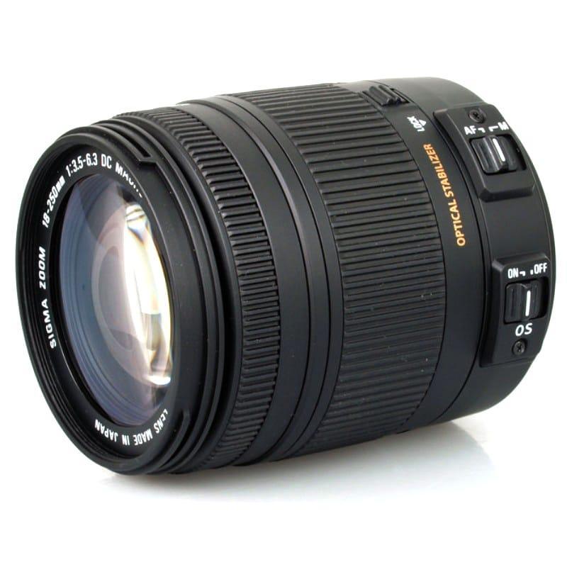 Sigma 18-250mm f/3.5-6.3 DC OS HSM for Nikon