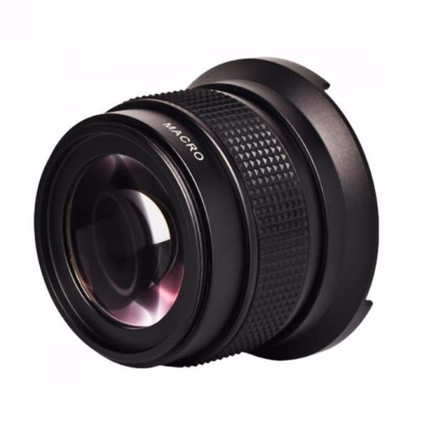 Zomei Super Wide Angle Fisheye Lens with Macro Lens 0.42x 37mm