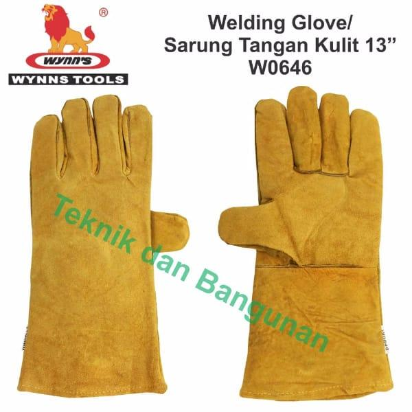 Welding Glove Sarung Tangan Las Wynn s W0646 prev next. Welding Glove .