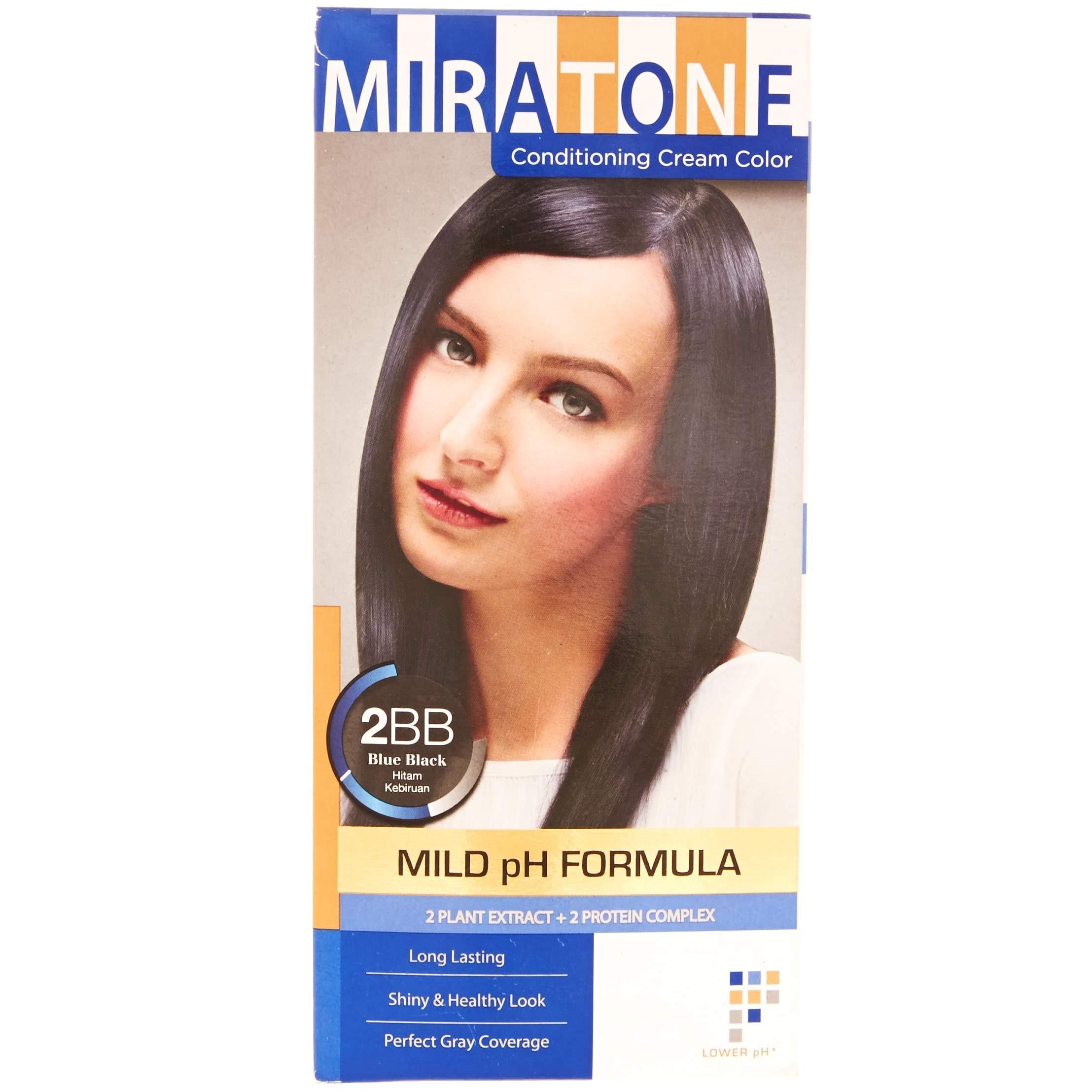 Jual Pewarna Rambut Miratone Hair Color 2BB Blue Black 2018 2f0b8f726f