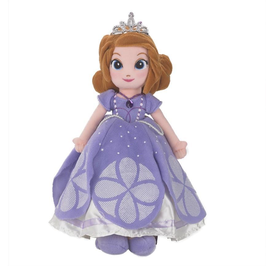 """(0 Review). Disney Junior Sofia The First Plush 24"""" Ungu"""