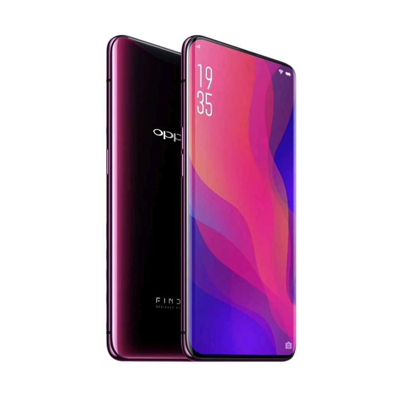 Oppo Find X - 8/256GB - 4G LTE - Bordeaux Red