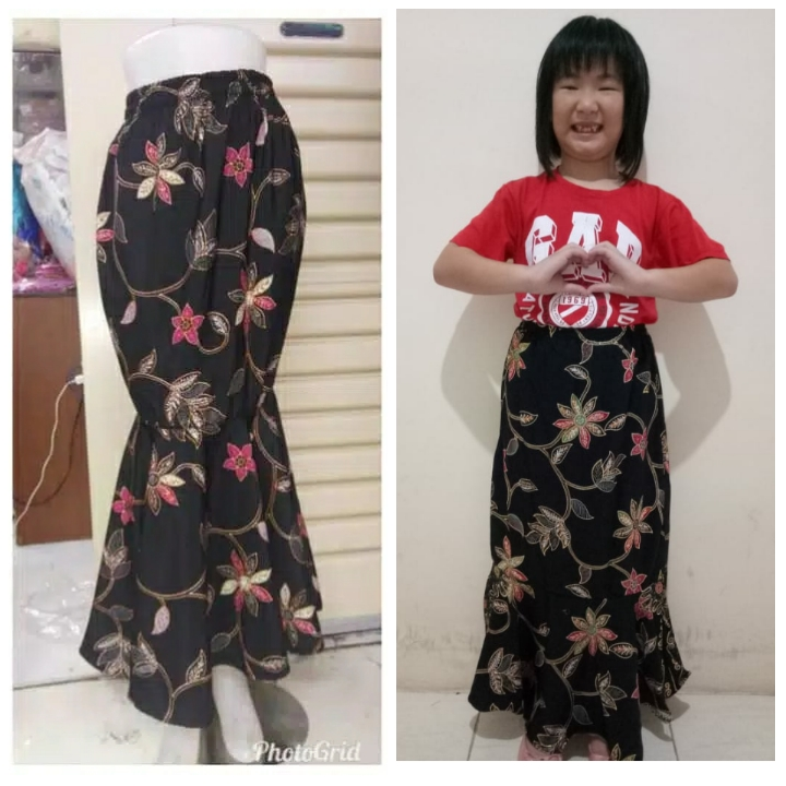 ... SB Collection Rok Panjang Renata Long Skirt Biru Tua 02 Source Batik Couple