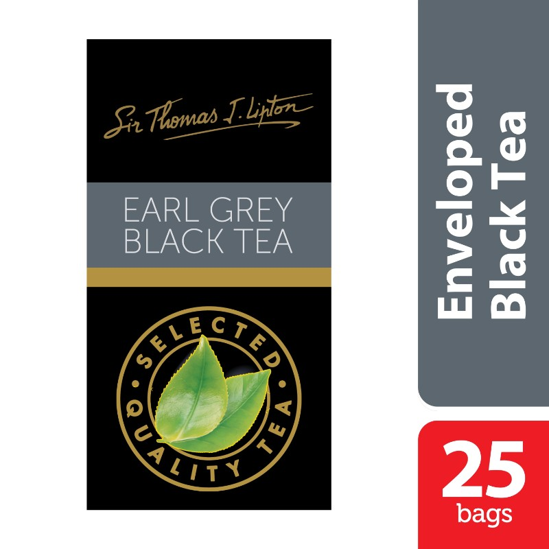 (0 Review). Lipton Earl Grey Stl 25x2g