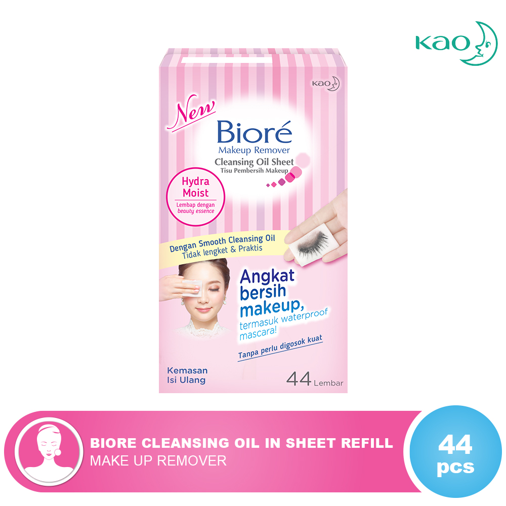 (0 Review). Biore Cleansing Oil In Sheet Refill 44'S