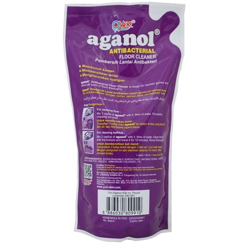 (0 Review). YURI aganol Antibacterial Floor Cleaner Lavender 630ml