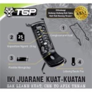 (0 Review). TGP Aksesoris Motor Box Tengah Yamaha New Jupiter MX 135- Hitam