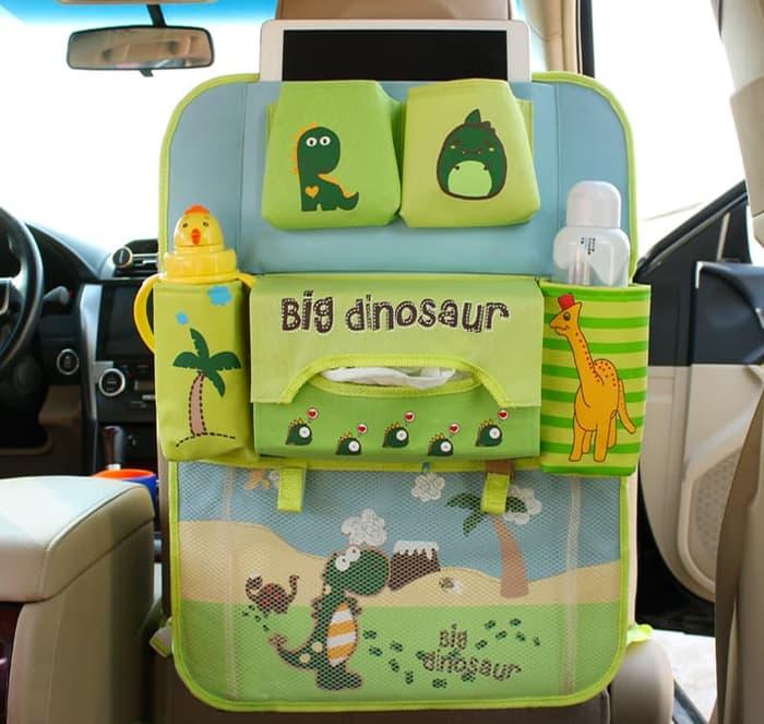 RADYSA Car Sear Organizer Big Dinosaurus