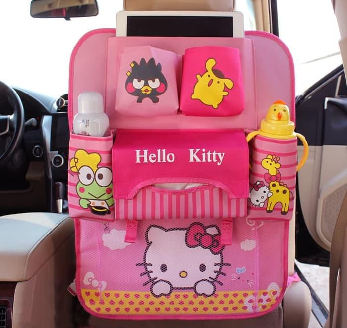 RADYSA Car Sear Organizer Hello Kitty