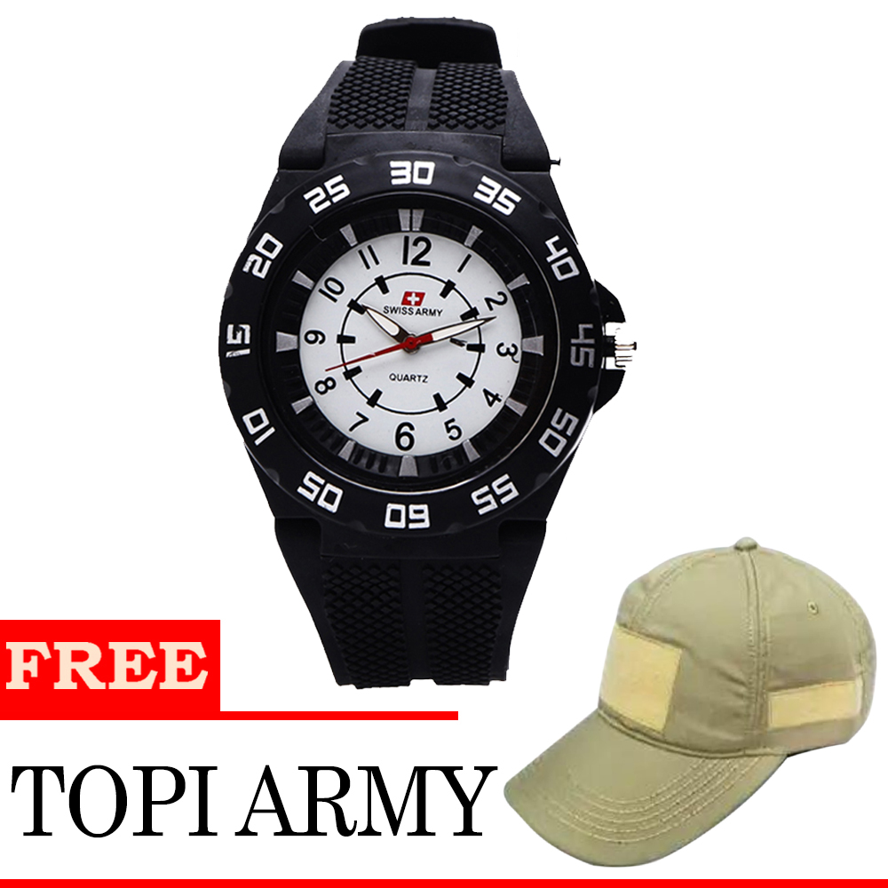 Expedition E6392m Jam Tangan Kasual Pria Leather Strap Daftar E6392 Black Brown Fashion