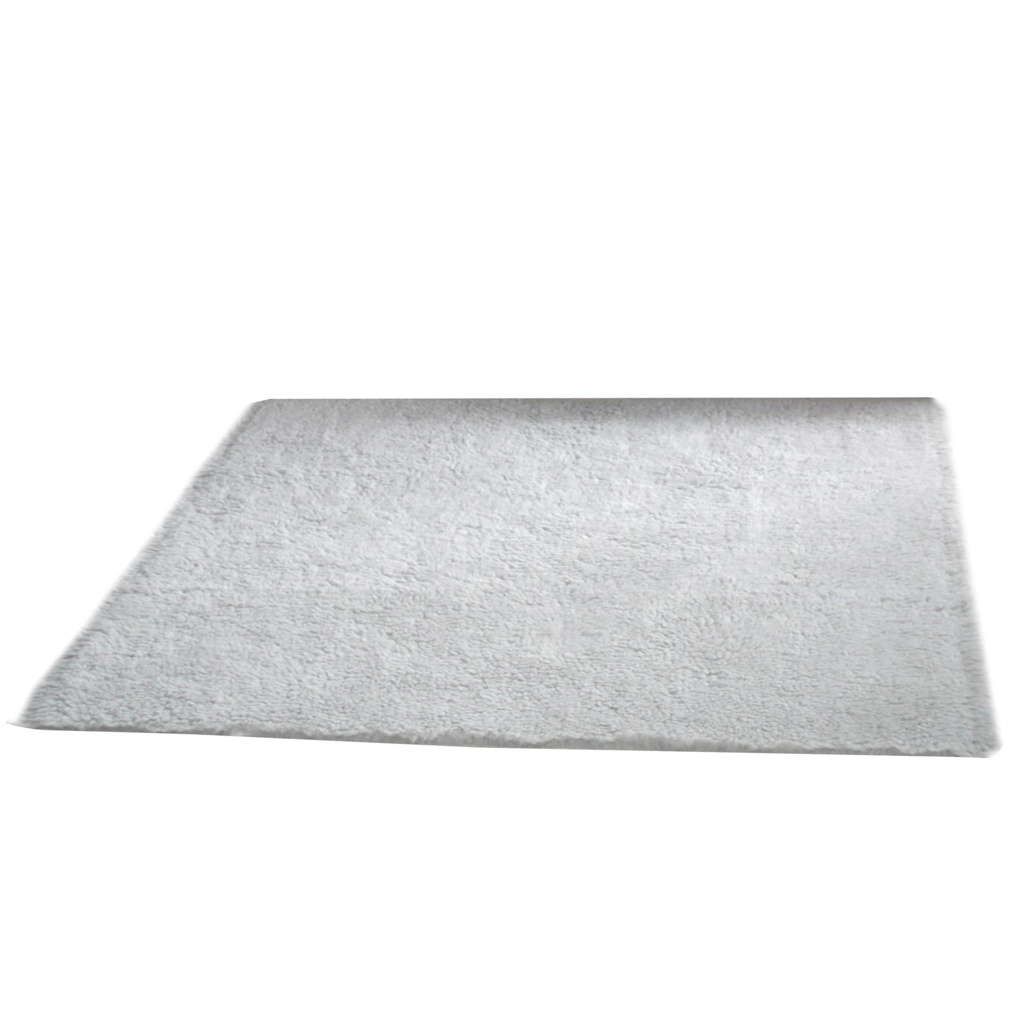Decoku Karpet Bulu Anti Skid Abu Muda 130x100cm
